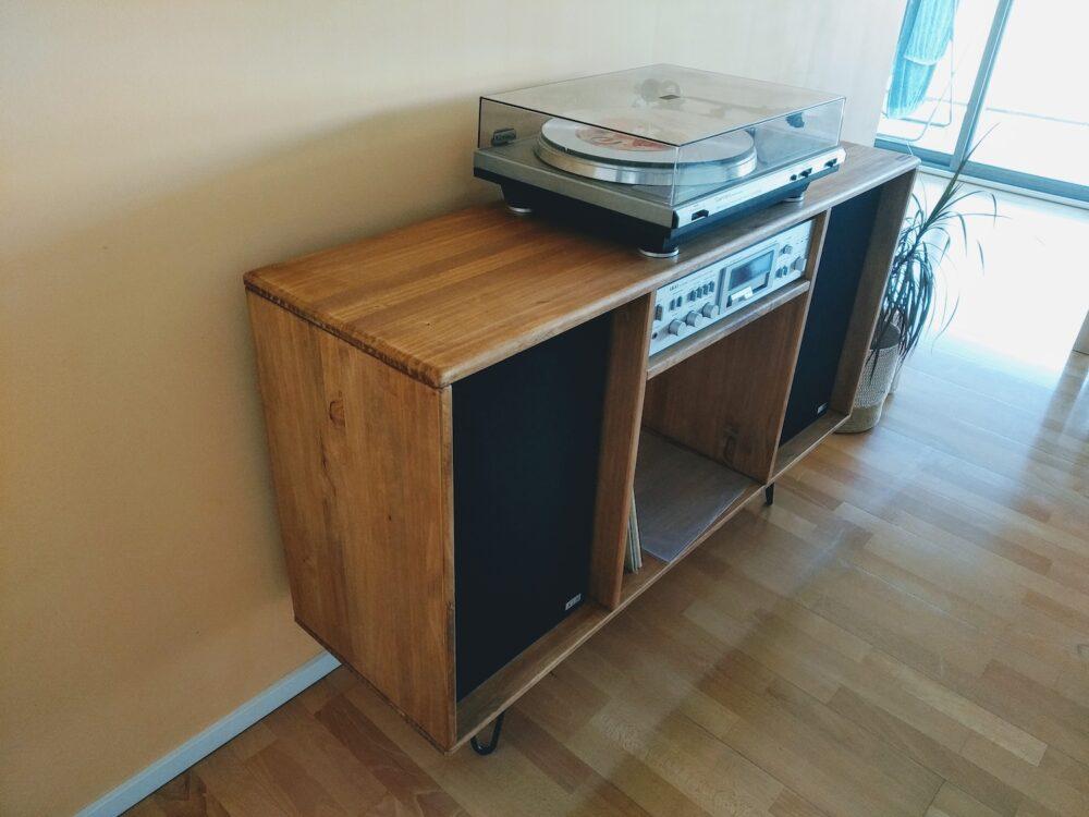 Mueble tocadiscos Viggan